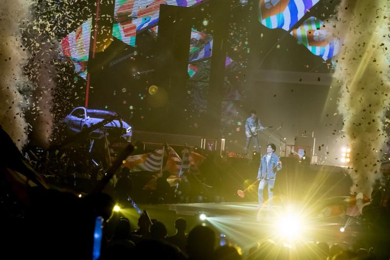 蕭敬騰領軍獅子合唱團熱力飆歌High翻全場。