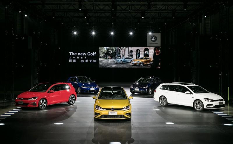 The new Golf正式在台發表,建議售價89.8萬元起,現已進駐全台Volkswagen授權展示中心。