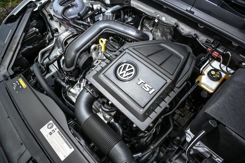 小排量1.0升TSI三缸渦輪增壓引擎20.4kgm扭力峰值不僅較過往1.2升TSI提升近14%,表現更足以媲美當前2.0升自然進氣引擎之性能水準。
