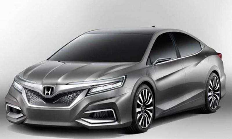 第十代Honda Accord將會有相當科技感的運動化外觀(預想圖)