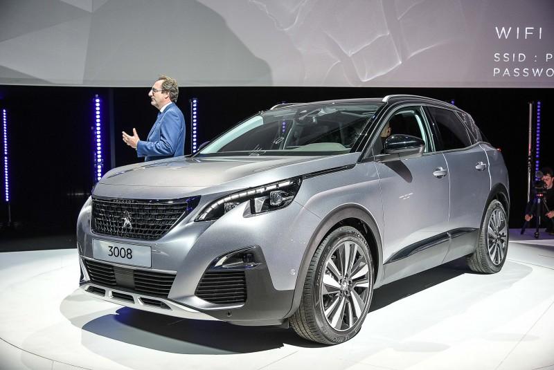 Peugeot 3008一改過去車格,搖身一變成為霸氣壯碩的C-Segment SUV
