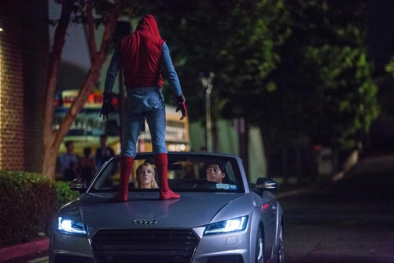 全新世代Audi A8在電影《蜘蛛人:返校日》中亮相,Audi AG在影片中傳達自動駕駛科技讓你把時間留給更重要的人。