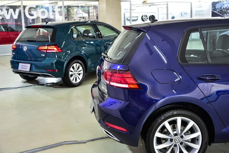 深藍與深綠車色質感出色!讓人意外的覺得好看