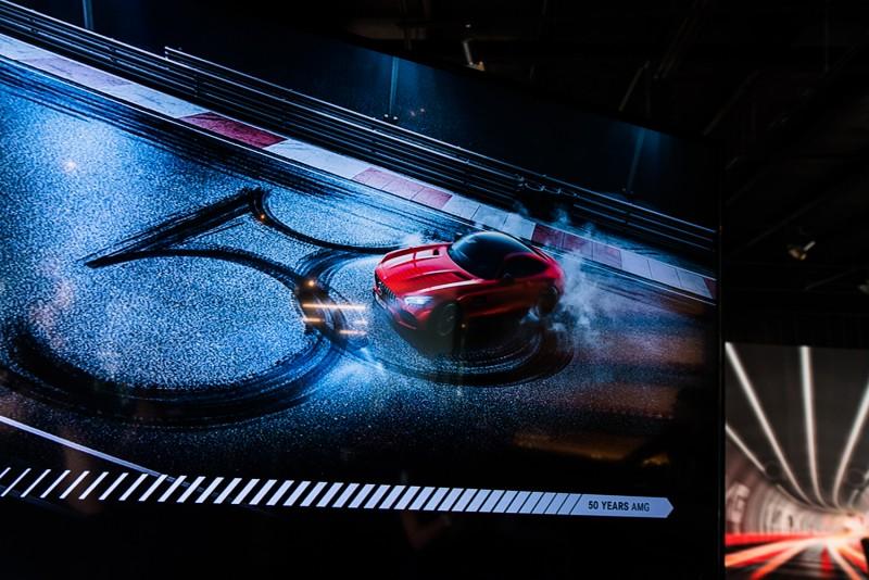 #AMGPopUpTaipei正式啟動AMG50週年的系列活動,未來將有AMG性能車聚、Mercedes-AMG GT R發表、AMG Driving Academy駕駛學院及台北國際車展性能大軍壓境。