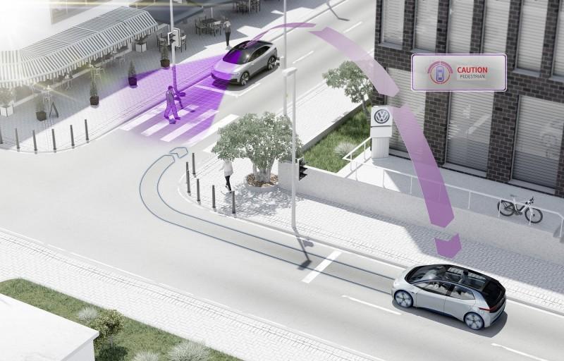 預計自2019年起,Volkswagen車款將標準配備pWLAN公共網域互聯科技,提昇行車安全。