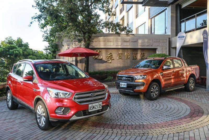 福特六和舉辦的「Ford Unleash Outdoor Spirit」活動,主要以Ranger越野體驗為主,輔以Kuga接駁飯店與越野間路段,體驗其優越性能表現。