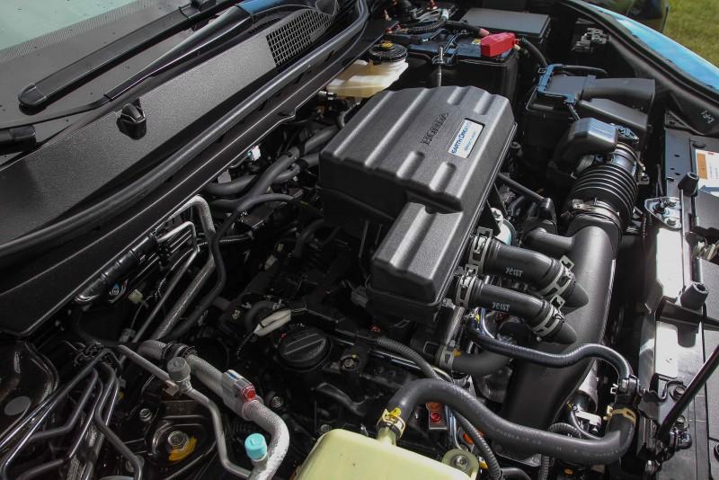 193ps帳面馬力數據不但已經是過去2.4自然進氣引擎同級動力!