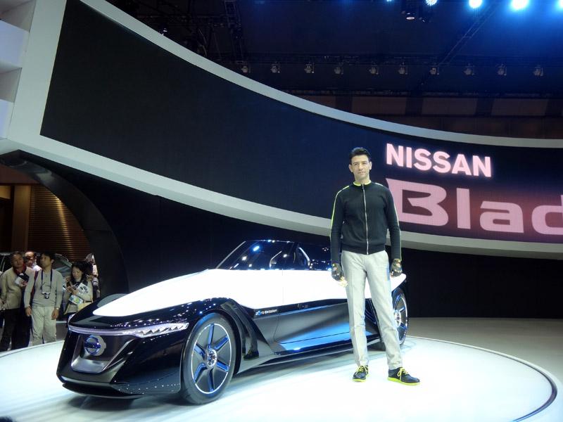 BladeGlider首發於2013年的東京車展。