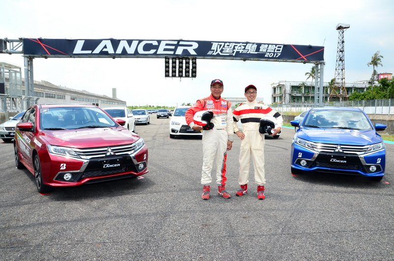 為了讓消費者更加了解New Lancer的實力,Mitsubishi於大鵬灣賽道舉辦馭望奔馳體驗活動