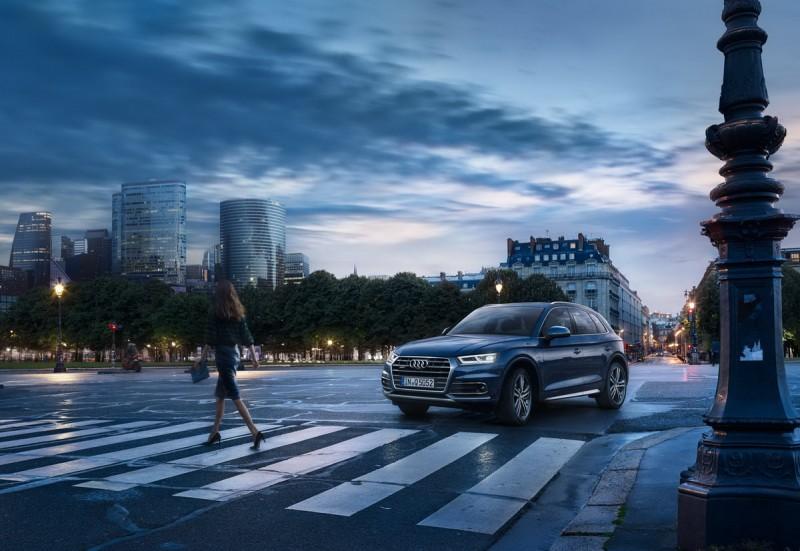 媲美中大型房車的寧靜車室結合更加洗鍊、現代的設計美學概念,賦予全新世代Q5優雅行路性與乘坐舒適性,滿足全家大小無論長程短途,隨時出發享受「隨心而動」的盡興。
