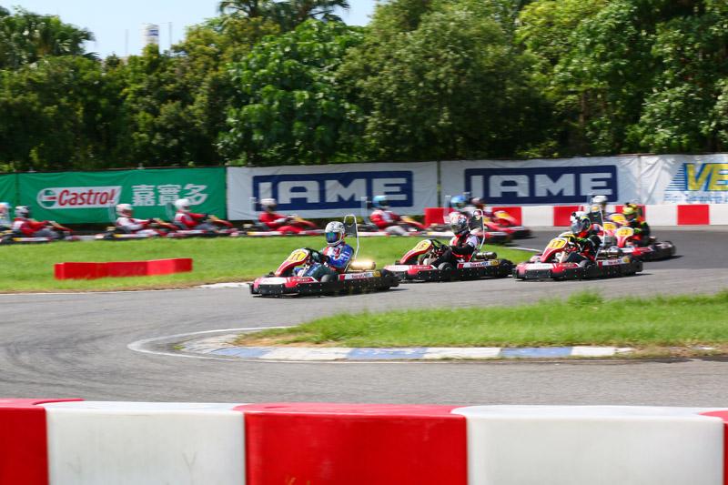 「N35二小時耐久賽」共有20組隊伍參加。