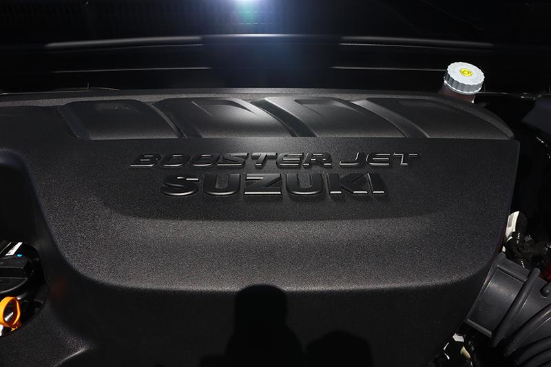 與Vitara S相同的1.4升Boosterjet渦輪增壓汽油引擎,輸出一舉提升到140hp/5500rpm與22.4kg-m/1500-4000rpm境界。