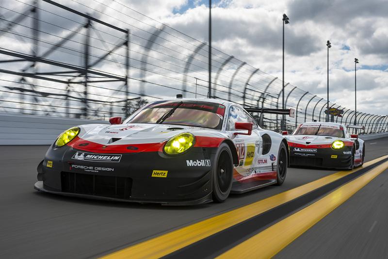 還好WEC裡頭還有GT組別的911 RSR撐住場面。