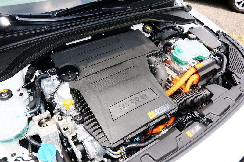 1.6升缸內直噴GDI引擎搭配電動馬達可發揮141匹綜效馬力