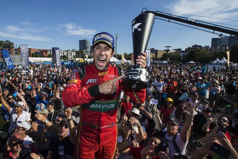 駕駛#11號車的Lucas di Grassi在上一個Formula E賽事拿下車手亞軍,今年終於拿下個人的第一座Formula E冠軍杯,為他的職業生涯再添歷史性的一勝!