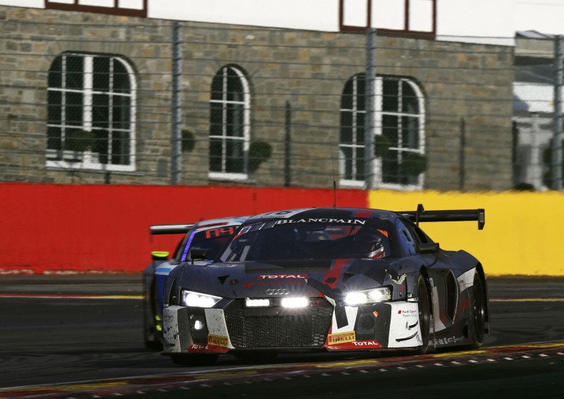 Audi Sport Team Saintéloc在SPA 24小時耐力賽拿下第一座冠軍杯!