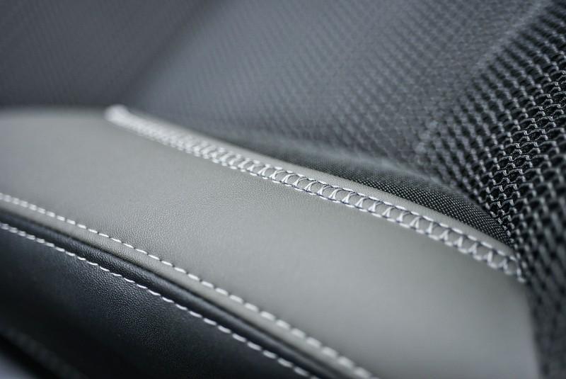 椅面上細膩的車縫線