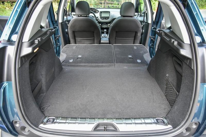 後排座椅也能4/6分離打平後隨即擁有寬闊方正大空間。