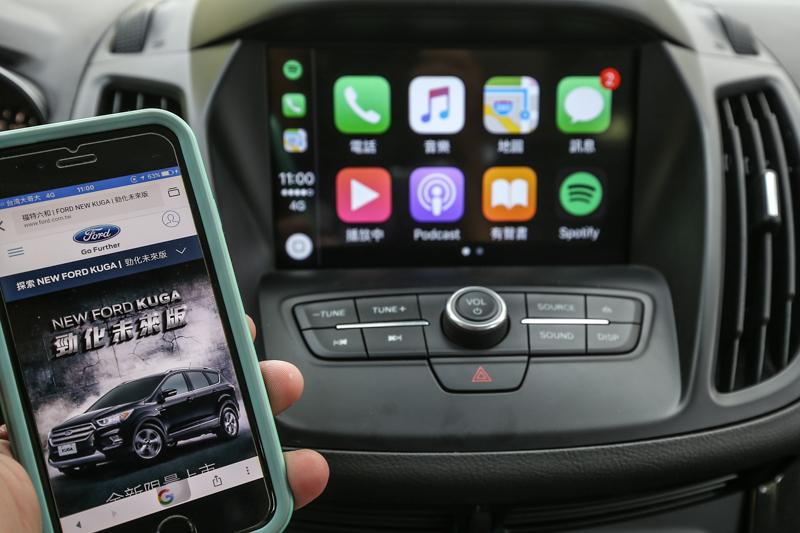 SYNC® 3娛樂通訊整合系統,具備語音聲控、藍牙、手機連結等多樣功能。