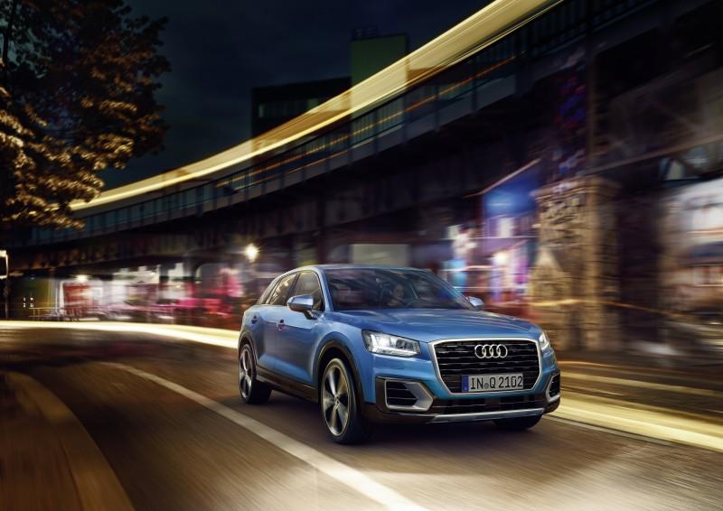 全新Audi Q2搭載1.4L 缸內直噴渦輪增壓引擎,配備主動式汽缸管理系統,創造優異動力輸出外更兼備絕佳油耗表現。