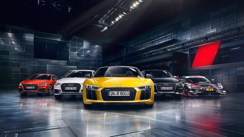 Audi Driving Experience 2017極限體驗營即刻報名!Audi Sport性能大軍R8 V10 plus、全台首亮相TT RS 將給車迷貼地極速快感,特別邀請 九屆利曼冠軍Tom Kristensen首度來台,讓車迷們近距離與利曼傳奇人物一同操駕奔馳!