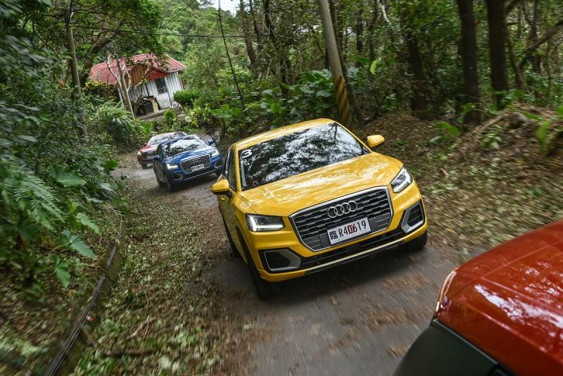 行駛颱風過後滿目瘡痍的產業道路也不是問題