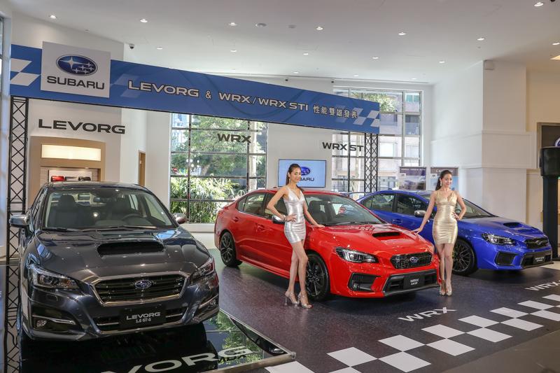 Subaru台灣總代理意美汽車於8月10日同步發表小改款Levorg車型與新年式的WRX / WRX STI性能房車。