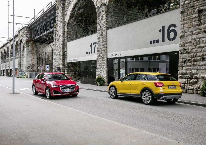 全新Audi Q2 顛覆四環品牌Q 系列家族樣貌,以嶄新設計語彙勾勒不容錯認的俐落身形,展現年輕奔放的強烈車格定位,無可定義『很可以』!台灣奧迪自即日起正式上市。