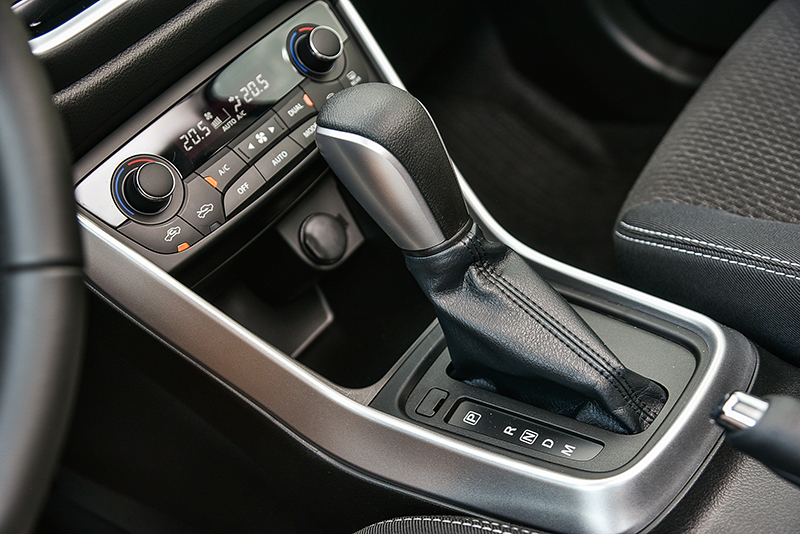 搭配六速自排變速箱,更提供手排模式添增駕馭自主性。