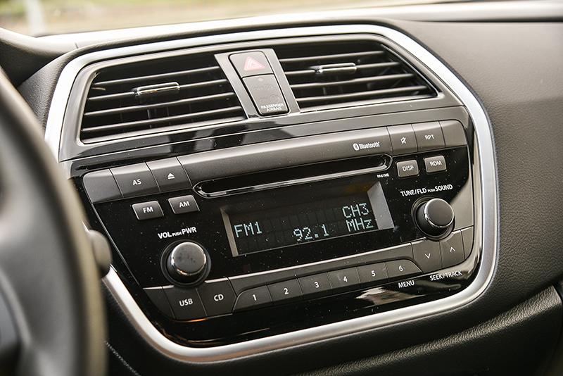 兼容CD/MP3原廠高級音響,同時整合藍牙功能。