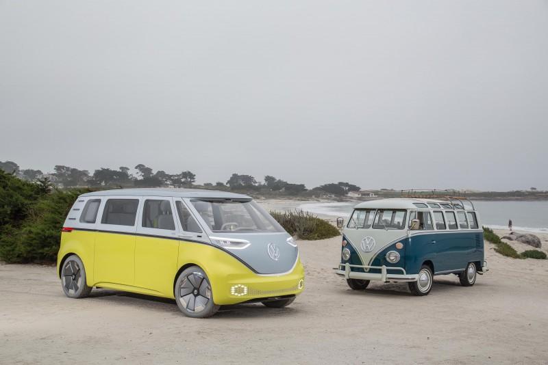 Volkswagen I.D. BUZZ電動概念車將於2022年推出量產車型