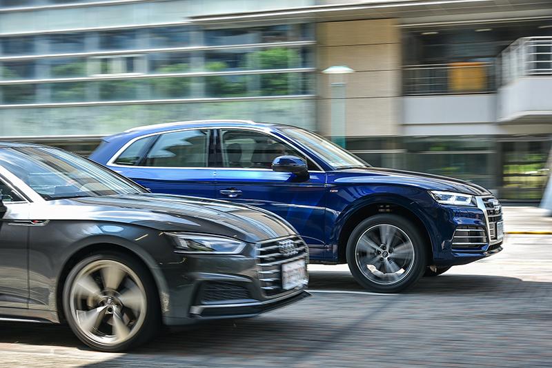 與A5 Coupe一致的45 TFSI動力與quattro四驅系統,為Q5帶來跑車般的激情與強勁。