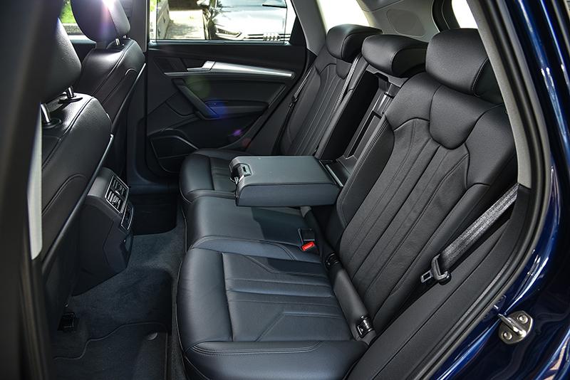 身為LSUV一時之選,全新Audi Q5當然具備寬廣且極其舒適的乘坐空間。
