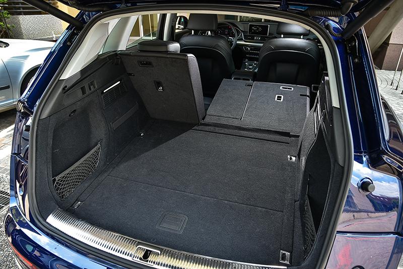 透過後座椅背的傾倒與否,自550至1550升的行李廂容積足以對應絕大多數家用物品。
