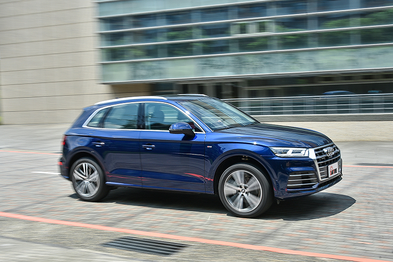 堪稱完美的行路舒適表現,讓宜動宜靜的全新Audi Q5表現更顯全面。
