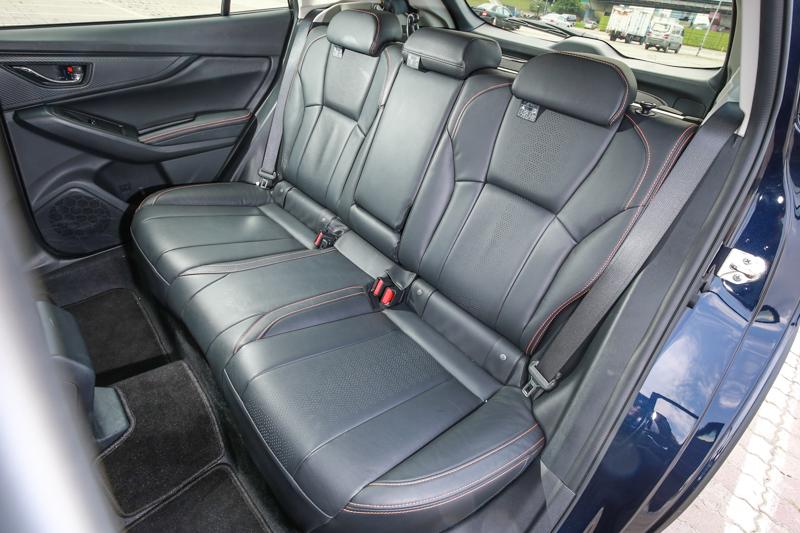 空間始終是XV的優勢,新世代車型也不例外。