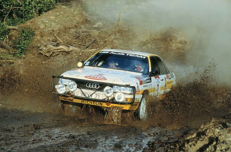 WRC世界拉力錦標賽本身多變又艱險的賽道,成為證明Audi Sport當家科技—quattro智慧型恆時四輪傳動性統強大抓地力的鐵證。