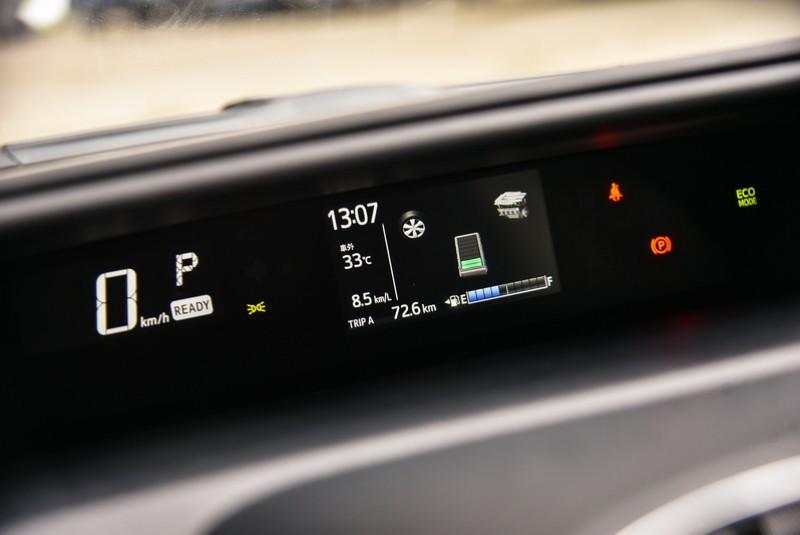 MID顯示儀表尺寸由原本的3.5吋提升為4.2吋,對行車資訊的判讀更為輕鬆