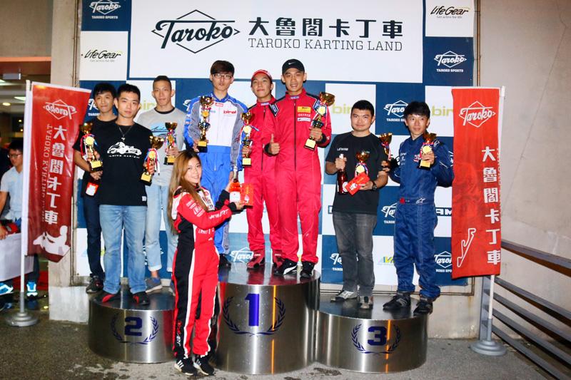 前三名依序分別為「Carsman」、「Team Dreamer」、「背著25公斤跑」獲得。