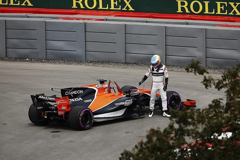 實際上的McLaren-Honda賽車。