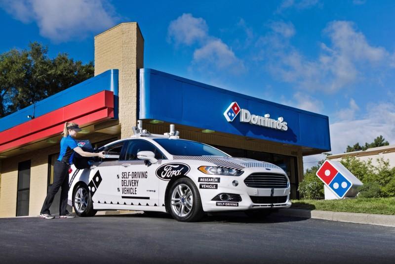 Ford及達美樂披薩正開始研究和瞭解顧客對於自動駕駛車輛在未來餐飲外送產業的前瞻性。
