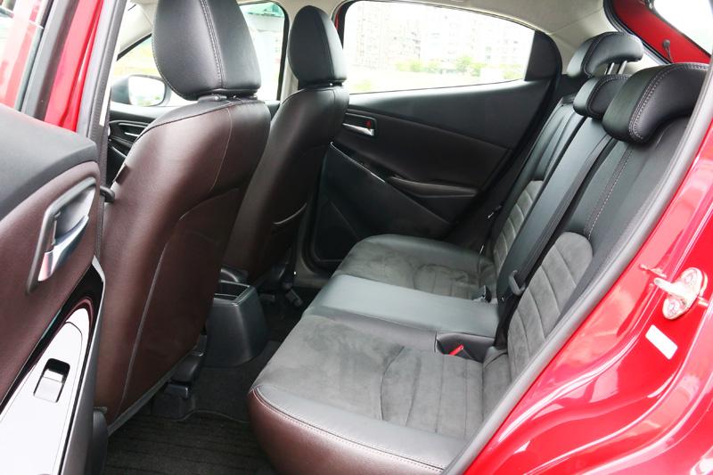 Mazda2的空間規劃一切以夠用為基本概念,足敷日常使用。
