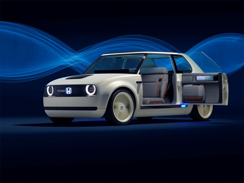 Urban EV Concept的向後方開啟車門量產機會不高
