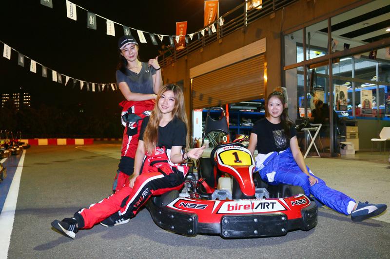 歡迎喜歡速度與賽車的女性朋友們一同來享受比賽的快感。