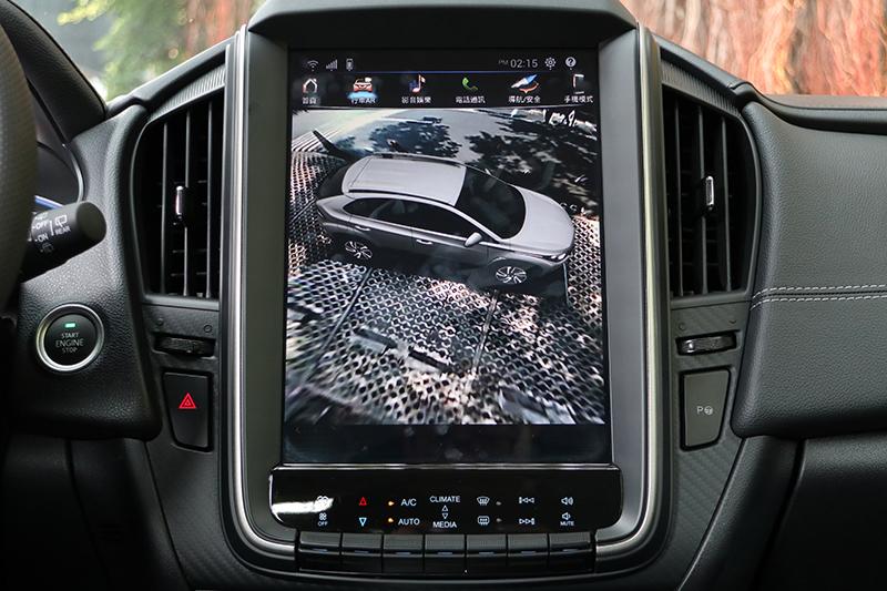 AR Around View+環車AR安全影像可360度環車檢視週遭狀況。