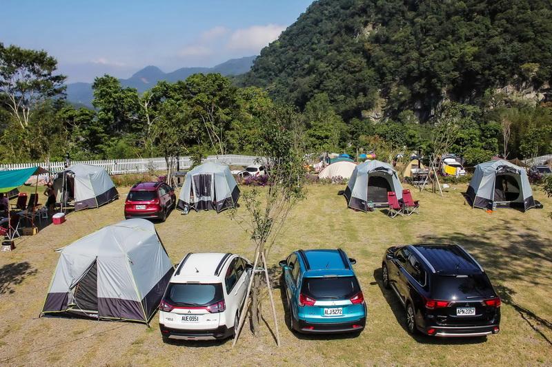 「 New Colt Plus 超值好時光露營節」活動,透過試車兼露營的方式讓消費者深刻感受Colt Plus的強大功能性