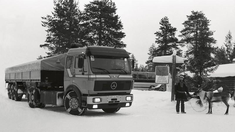Daimler首開先例,於1981年將煞車防鎖死系统(ABS)應用於重車上,開啟重車安全發展的篇章。
