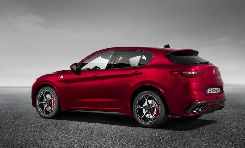 Stelvio是Alfa Romeo第一輛SUV,Stelvio Quadrifoglio更是瞄準同級競品的性能化殺手