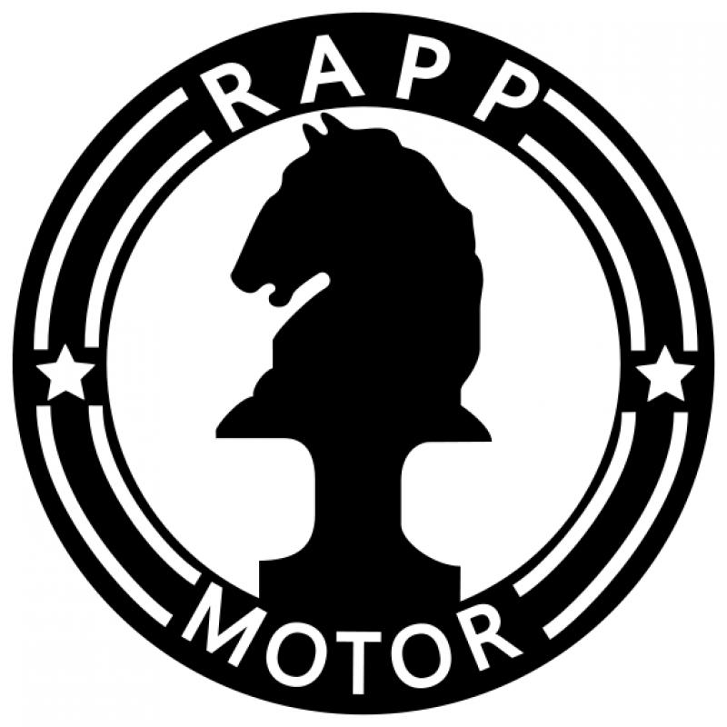 這是BMW前身Rapp Motorenwerke的商標,全新高階黑白廠徽的概念藉由此而來。