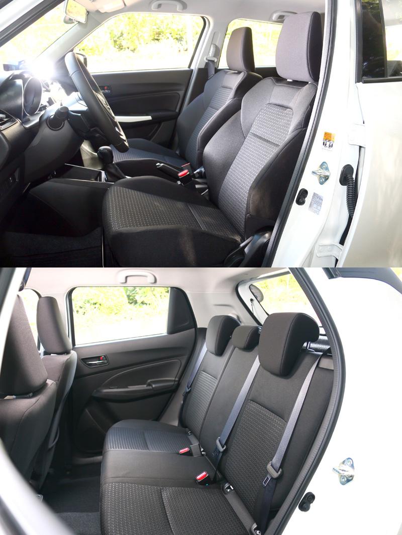 車寬增加與軸距增長了20mm,在後座部分有明顯的進步,頭部空間則未因車高降低而減少,整體而言中規中矩、剛好夠用。
